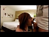 Hotel Blowjob For A Lucky Fan With CamGuy69