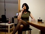 Sandralein33 Smoking In The Kitchen