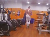 At The Gym In Tendenze Spandex