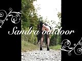 Sandra Outdoor Pussy Games