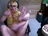 Young Sissy Playing With Her Clitty On Cam