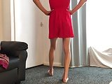 Skinny Boy Red Dress