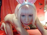 Sweet Bunny Cum Eating Hot Big Cock Sex Toys