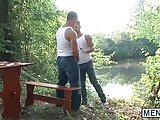 Adam Bryant And Vadim Black Enjoying A Hot Outdoor Fuck