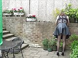 Buzzing In Black Lace And PVC – Anal Play And Masturbation