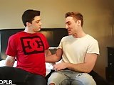 Teen Throb Collin Has Sex With A Sexy Gay For 1st Time