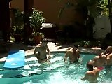 MenOver30 Daisy Chain At The Pool Party