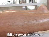 GayRoom Massage Fuck With Angel Duran And Wesley Woods