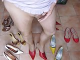 Fetish Cumshot In Sexy Shoes 001