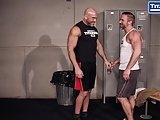 Real Life Gay Husbands Fuck In Locker Room