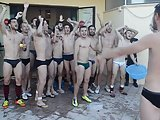 Italian Football Players In Underwear