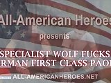 Specialist Wolf Fucks Airman First Class Paolo
