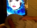 Bebe Rexha In A Fur Coat Cum Tribute