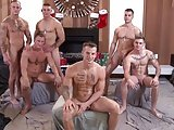 All Hunks Bareback Orgy
