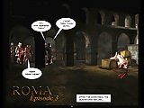 Ancient Roman Cum Swapping Orgies 3D Cartoon Animated Comics