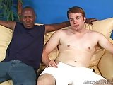 A White Guy And A Black Thug Sucking Off Each Other