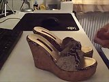 Studio Pollini Platform Cork Wedges Getting Blasted