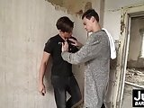 Horny Naughty Twinks Pavel And Pavez Bang In Abandoned House