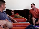 Markie More Has An Orgy With His Big Dicked Bang Buddies