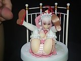 Cumshot On Figure Of Super Sonico