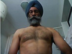 Horny Indian Daddy Jerkoff