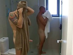 2 AUSSIES SHOWER AND HEAD TO BED
